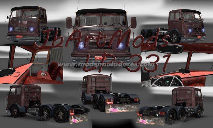 Caminhão Mercedes Benz LP-331 Para V.1.22.X - ETS2