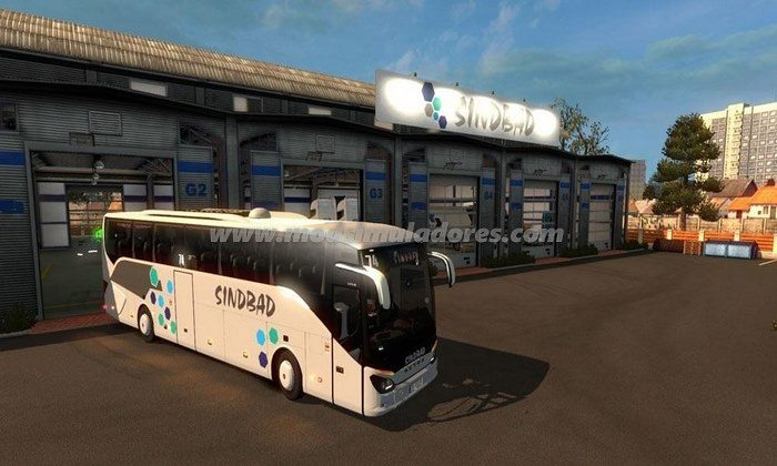 Ônibus Setra 516 HD Para V.1.22.X - ETS2