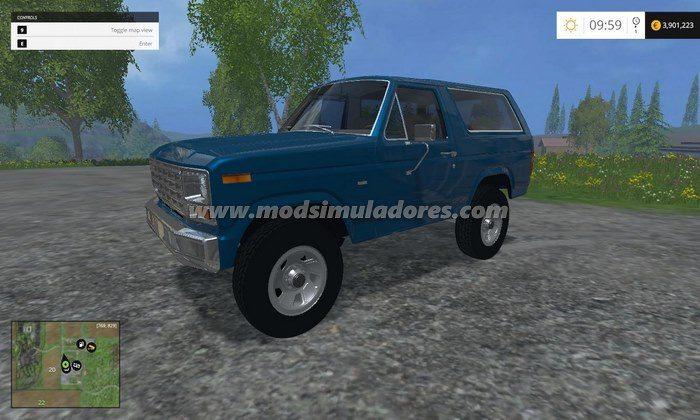 Carro Ford Bronco 81 V1.0 - FS15