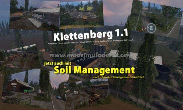 Mapa Klettenberg Map v 1.1.2 - FS15