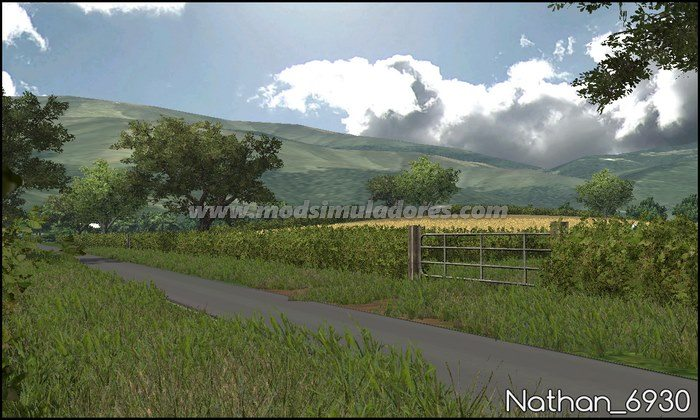 Mapa White Oak Farm v 1.0 - FS15