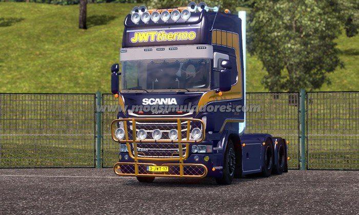 Caminhão Scania R620 JWT Para V.1.23.X - ETS2