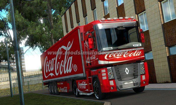 Pack de Skins da Coca-Cola Para V.1.23.X - ETS2