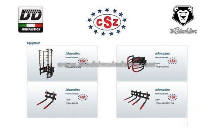 Pack CSZ v 6.0 - FS15