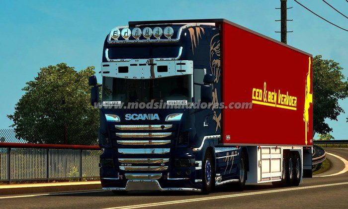 Scania R730 V.1.0 Para V.1.24.X - ETS2