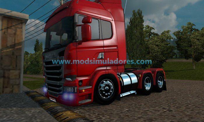 Mod Caminhões Rebaixados V1.2 Para V.1.24.X - ETS2