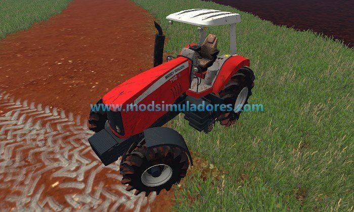 Trator Massey Ferguson 7140 Arrozeiro - FS15