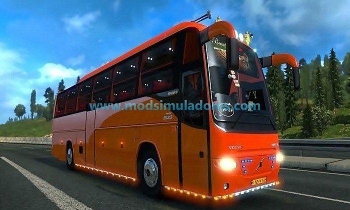 Ônibus Volvo Runiran B12B TX R9700 + Mod de Passageiros V.2.0 Para V.1.24.X - ETS2