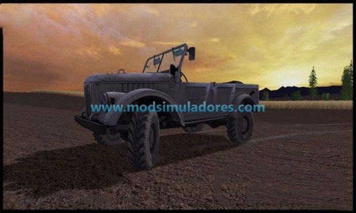 Carro GAZ 69 v 1.0 - FS15