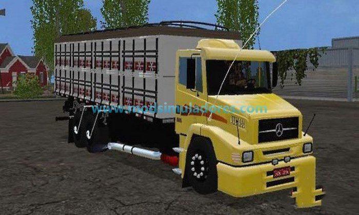 Caminhão Mercedes Benz 1620 v 1.0 – FS15