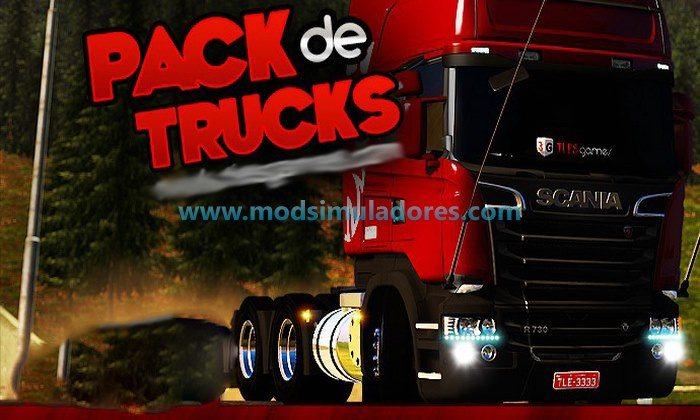 Pack de Caminhões Edition V.2.0 Para V.1.24.X  - ETS2