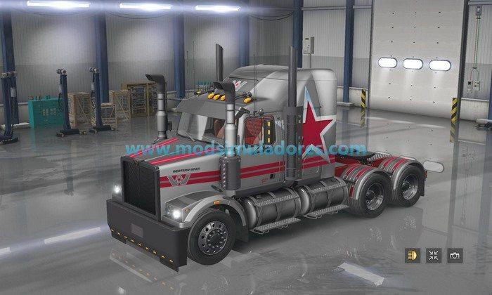 Caminhão Western Star 4800 - ATS