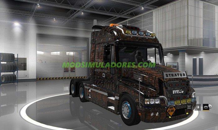 Caminhão Iveco Strator V.3.0 Para V.1.25.X - ETS2