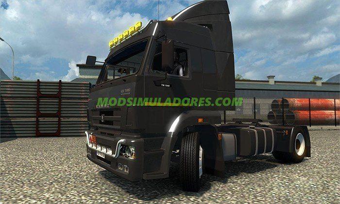 Caminhão Kamaz 5460TM para v.1.25.x - ETS2