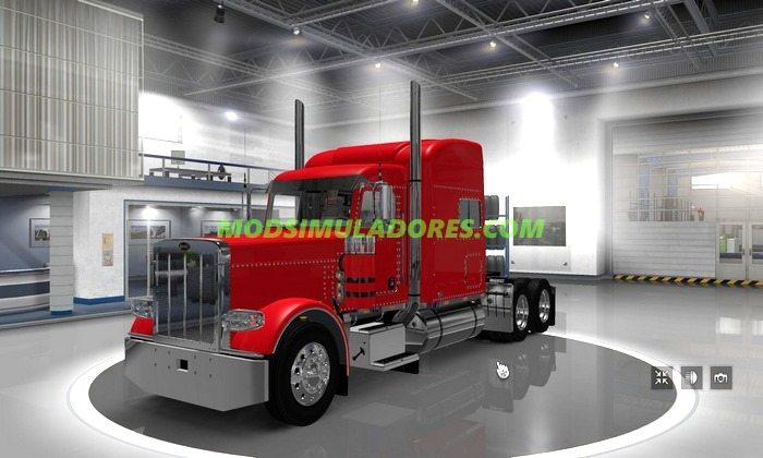 Caminhão Peterbilt 389 Modificado V.2.0.5 Para V.1.25.X - ETS2