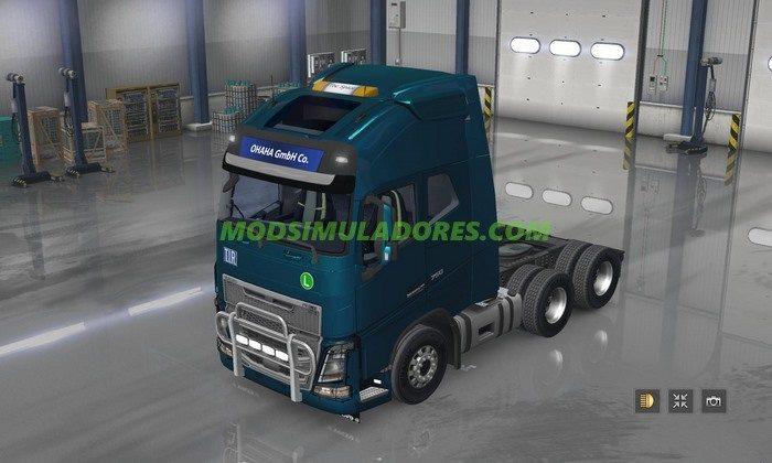 Caminhão Volvo FH V.2.1 Para v.1.4.1 - ATS