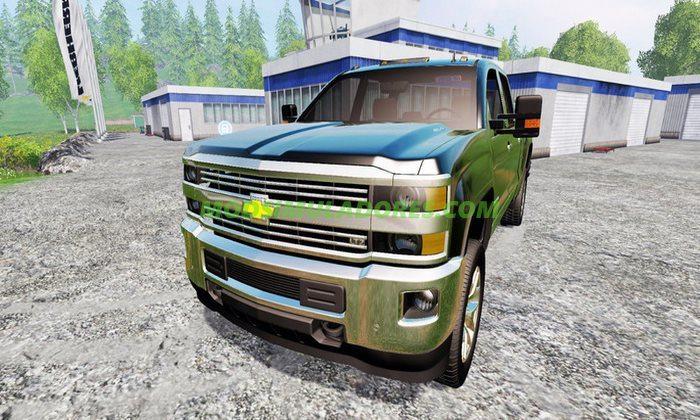 Caminhonete Chevrolet Silverado 2500 V.1.0 - FS15