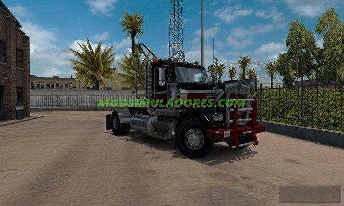 Caminhão Kenworth W900 Day Cab Heavy Duty Para v.1.4 - ATS