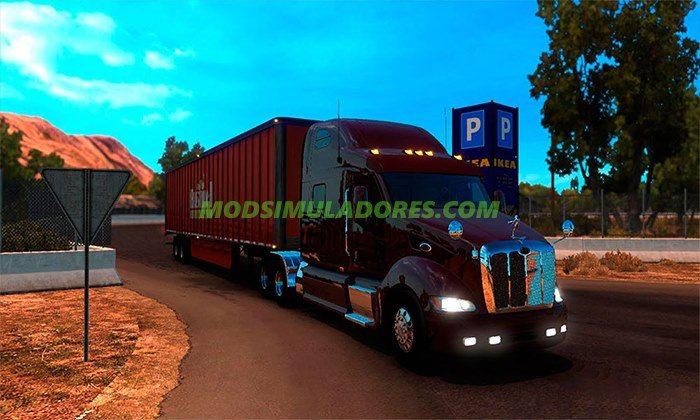Caminhão Peterbilt 387 Para V.1.4.X - ATS
