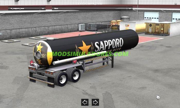 Reboque Bebida Premium Sapporo - ATS