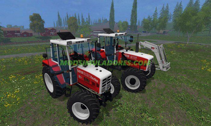 Trator Steyr 8080A SK2 Turbo e Eletrônico - FS15