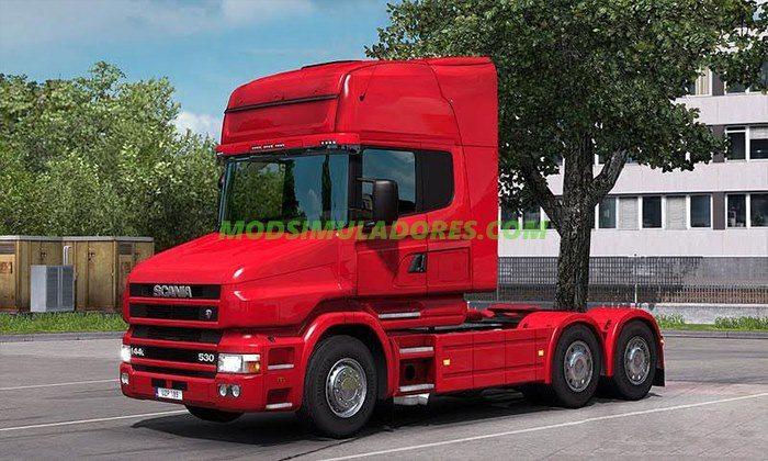 Caminhão Scania Série T4 Para V.1.25.X - ETS2