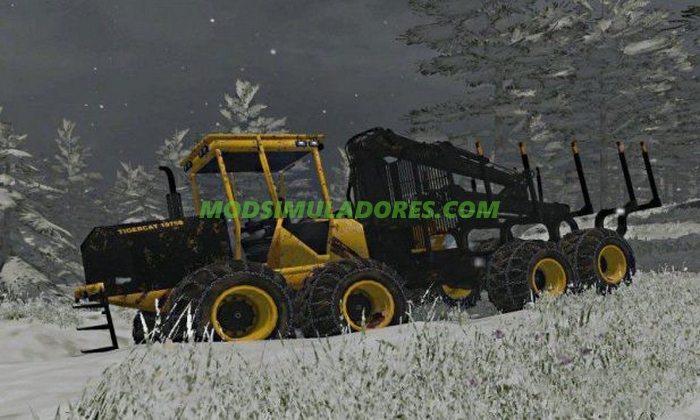 Trator Tigercat 1075B - FS15