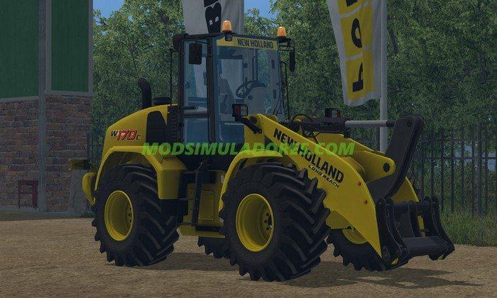 Trator New Holland W170C - FS15