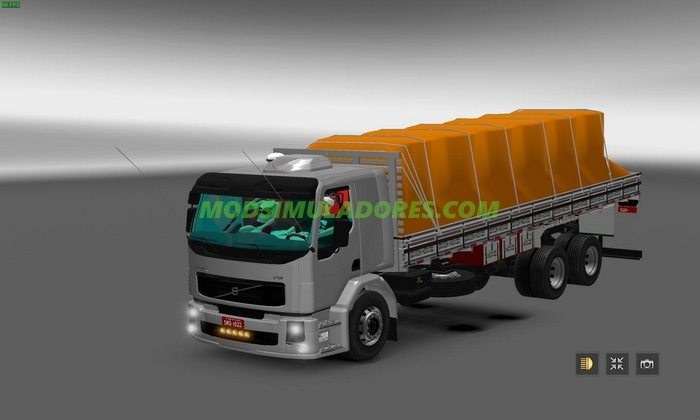 Caminhão Volvo VM 260 Para V.1.25.X - ETS2