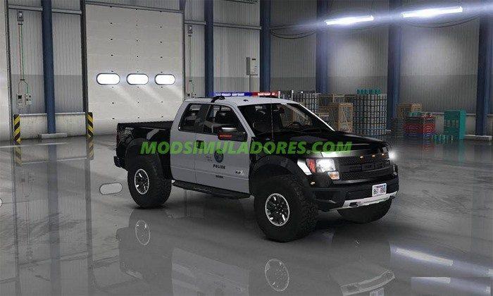Carro Ford F150 SVT Raptor Para V.1.4.2.2.X - ATS