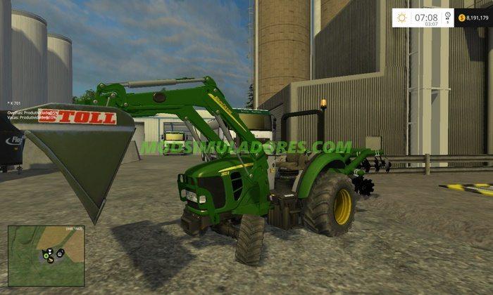 Pack Trator John Deere 2032R - FS15