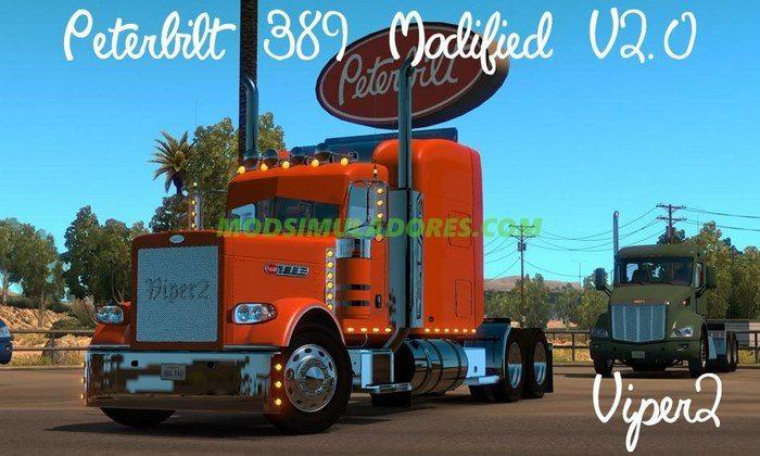 Caminhão Peterbilt 389 Modificado Para V.1.4.2.2.X - ATS