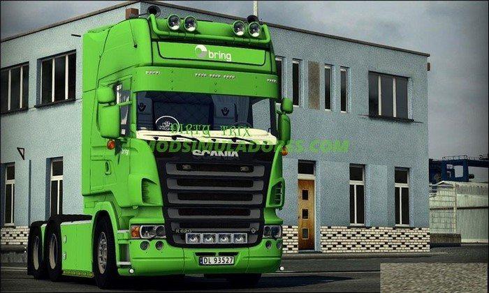 Caminhão Scania R620 V.2.8 Para V.1.25.X - ETS2
