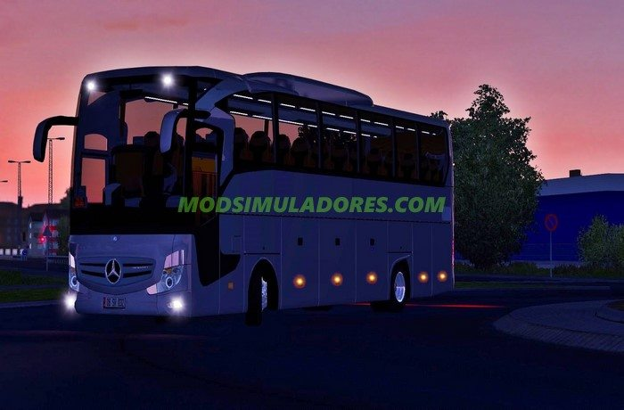 Ônibus Novo Mercedes Benz Travego 2016 Para V.1.25.X - ETS2