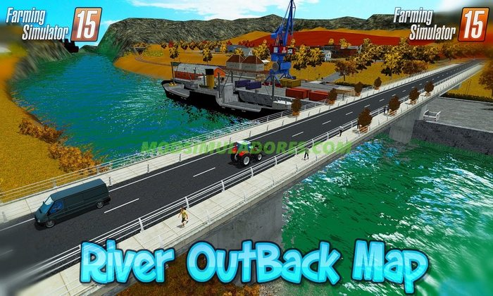 Mapa River OutBack Map v1.3 - FS15