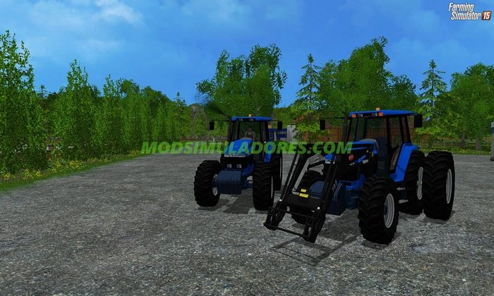 Tractor Ford 8970 + Ford 8970 v1.0 - FS15