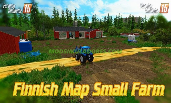 Mapa Finnish Map Small Farm v2.0 - FS15