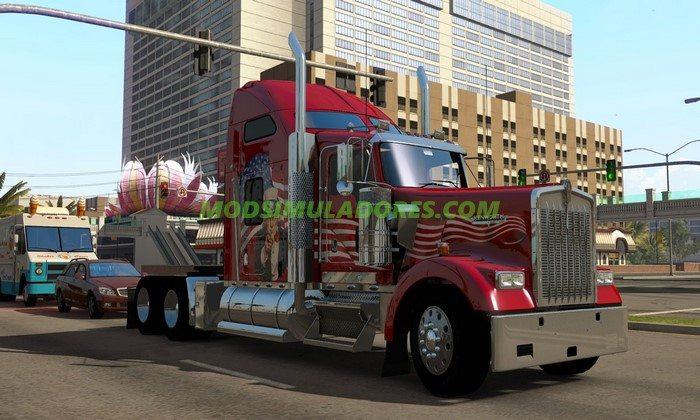 Pack de Caminhões Americanos Para V.1.25.X - ETS2