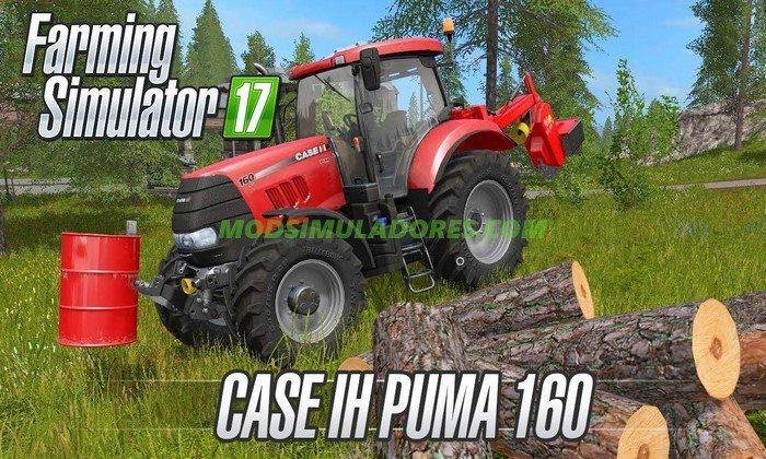 Trator Case IH PUMA 160 V1.1 - FS17