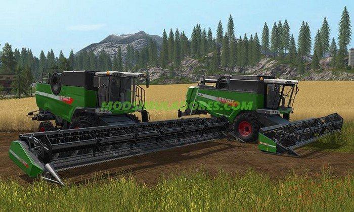 Pack Colheitadeiras Fendt Harvesters V1.0 - FS17