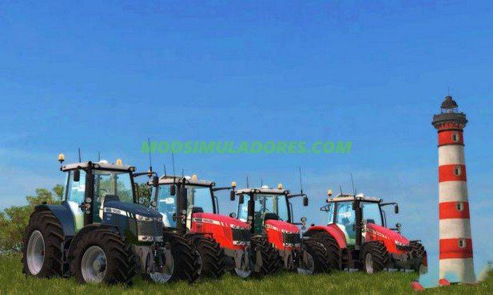 Pack Tratores Massey Ferguson - FS15