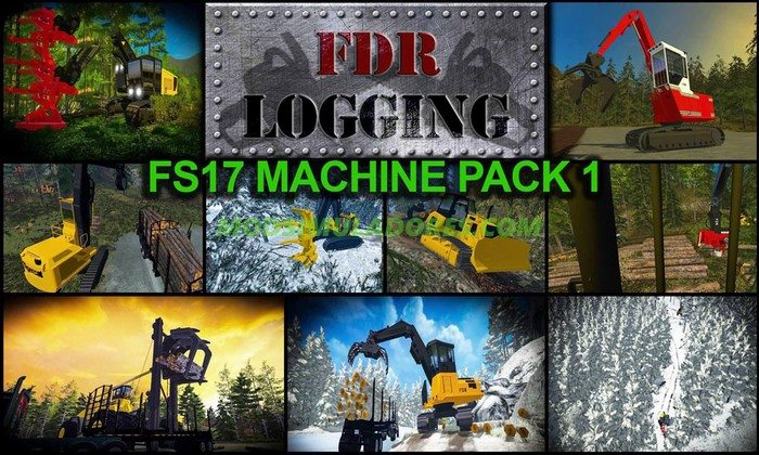 Pack de Maquinas FDR Logging - FS17