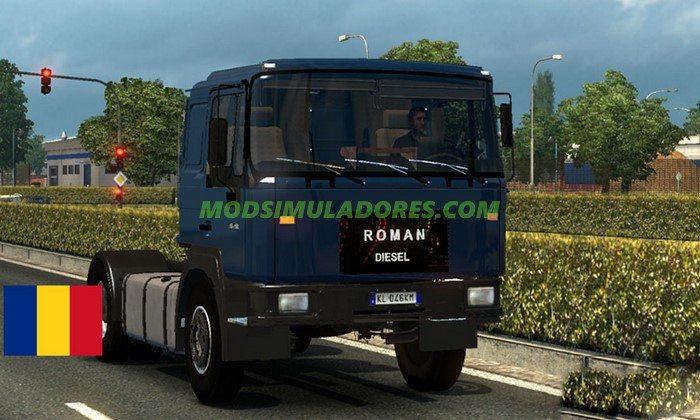 Caminhão Roman Diesel V.0.5 Para V.1.25.X - ETS2