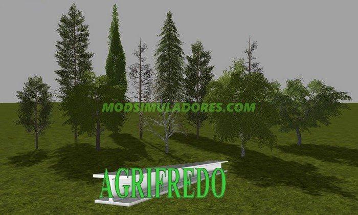 Pack de Arvores V1.0 - FS17