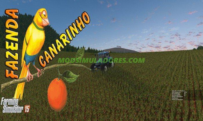 Mapa Fazenda Canarinho - FS15