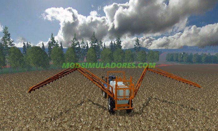 Pulverizador Jacto Columbia Cross - FS15