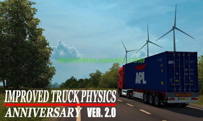 Mod Física Realista V.2.0 Para V.1.25.X - ETS2