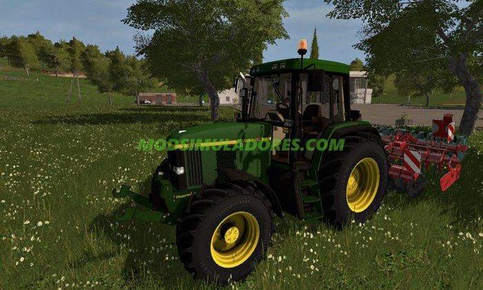 Trator John Deere 6810 V1.0 - FS17