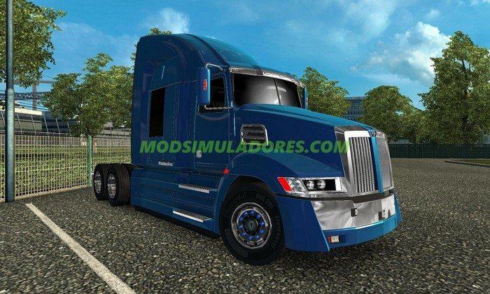 Caminhão Western Star 5700 Ex + Correção Para V.1.25.X - ETS2