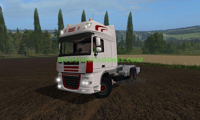 Caminhão Daf XF Hakenlift V1.0 - FS17